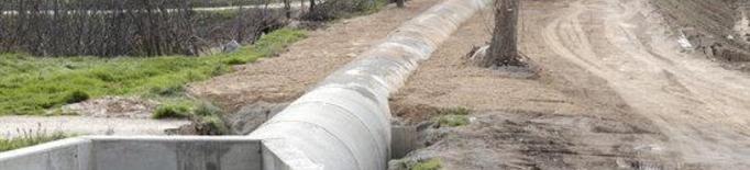 42 comunitats de regants afectades pels temporals Dana i Gloria sol·liciten l'ajut d'Agricultura