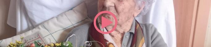 ⏯️ La dona més vella de Catalunya, de 113 anys, supera la covid-19 amb èxit