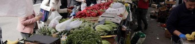 Lleida recuperarà dissabte el mercat setmanal de fruites, verdures i planter del Barris Nord
