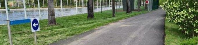 La Seu d'Urgell defineix un circuit al Parc del Segre per frenar la propagació de la covid-19