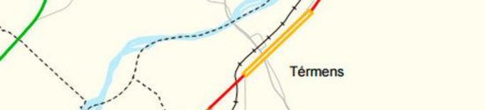 Territori impulsa el projecte de millora de la travessera de la C-13 a Térmens