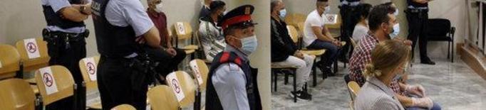 Presó per a vuit detinguts per traficar amb drogues a Lleida