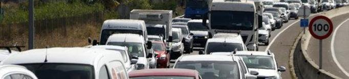 ⏯️ Cues quilomètriques als Alamús per accedir a Lleida pels controls perimetrals del Segrià