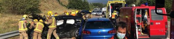 Mor un home de 41 anys en un accident de trànsit a la Cerdanya