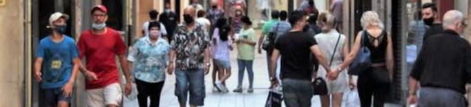 Seguiment a mig gas del comerç de Lleida del festiu d'obertura autoritzada