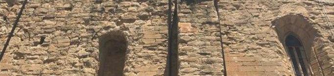 Imatge de l'exterior de l'església de Santa Maria d'Almenar