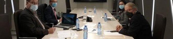 Imatge del consell d'administració de Mercolleida, celebrat el 3 de novembre del 2020