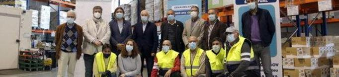 """Les peticions d'ajuda al Banc dels Aliments de Lleida augmenten un 40% """"de manera sobtada"""" per la pandèmia"""