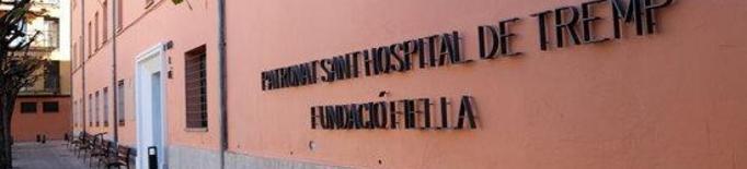 Pla de detall de la residència Fundació Fiella-Sant Hospital de Tremp el 23 de novembre del 2020