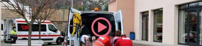 ⏯️ Trasllat de dotze pacients de l'Hospital Comarcal del Pallars a l'Alberg de Tremp