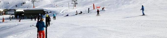 Pla general de l'estació d'esquí de Baqueira Beret el 14 de desembre del 2020