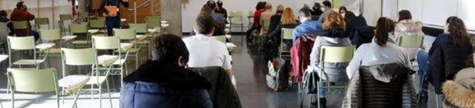 ⏯️ Unes 300 persones s'examinen per aconseguir plaça a la Diputació de Lleida