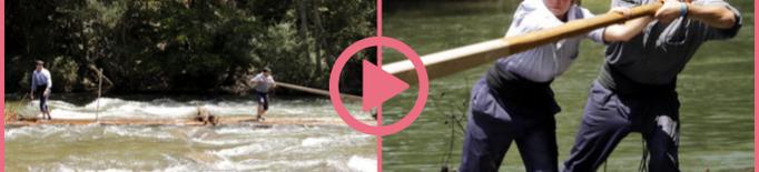 ⏯️ Els raiers de Coll de Nargó i la Pobla demanen suport per ser patrimoni de la Unesco