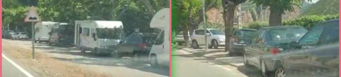 Un municipi de Lleida alerta d'un allau visitants i vehicles el cap de setmana
