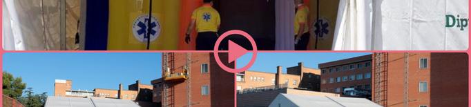 ⏯️ L'Arnau de Vilanova demana mantenir dues setmanes més la carpa instal·lada a l'exterior