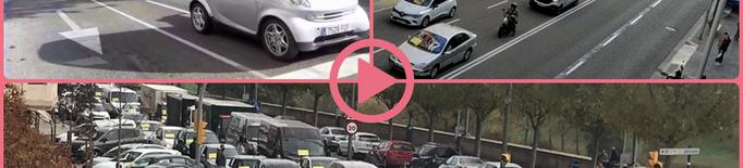 ⏯️ L'empresariat de Lleida protesta als carrers contra les restriccions