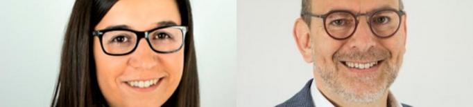 Jordina Freixanet i Jaume Rutllant, alcaldes en funcions durant el mes d'agost