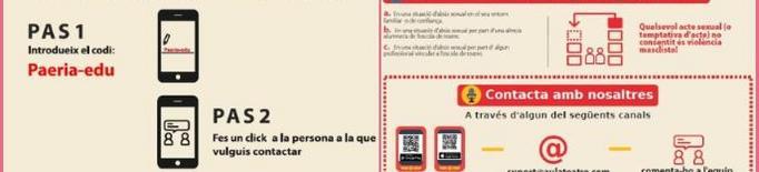 La Paeria activa una aplicació mòbil per denunciar situacions de violència