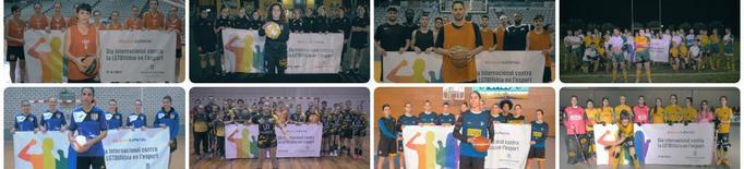 L'esport de Lleida s'uneix contra l'LGTBI-fòbia