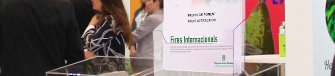 La Diputació aportarà 128.000 € per a la promoció del territori en fires i salons d'àmbit internacional