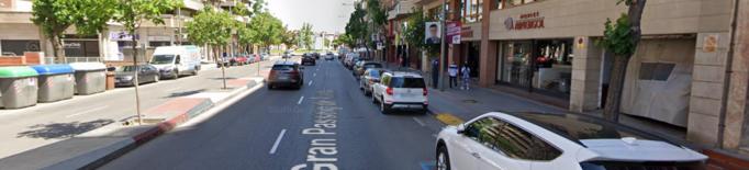 Mor un el conductor d'un ciclomotor en un accident al passeig de Ronda de Lleida