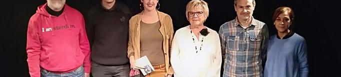 Alba Mascarella, Jordi Prenafeta i Marta Begué, guanyadors del primer Premi de Recitació Poètica del Segrià