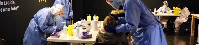 L'Institut d'Estudis Ilerdencs acull avui nous cribatges de tests ràpids del coronavirus