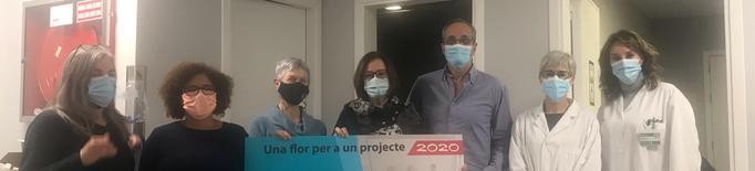 Oncolliga Comarques de Lleida lliura 5.000 € a l'IRB Lleida per al projecte DECIDO
