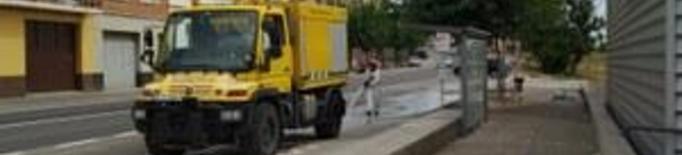 Desinfecció carrers Alcarràs. Arxiu
