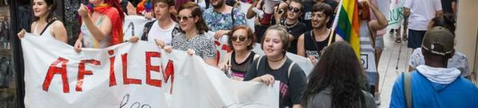 Reivindicació del col·lectiu LGTBIQ als carrers de Lleida