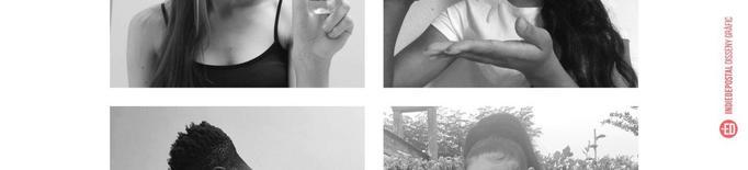 Una de les imatges de la campanya de sensibilització sobre la neteja de les mans i l'ús del gel hidroalcohòlic entre el col·lectiu jove
