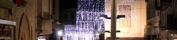 L'Ajuntament de Tàrrega assumirà aquest any el cost dels llums de Nadal als carrers