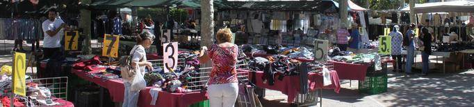 El mercat setmanal de Tàrrega recupera totes les parades la setmana vinent