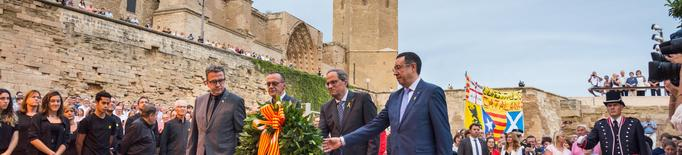 Torra fa una crida a Lleida a la mobilització massiva per aconseguir la independència