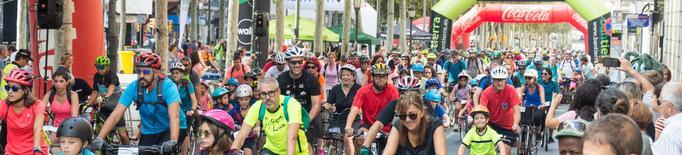 La Pedalada Popular aplega 2.000 participants per un circuit pels carrers de Lleida