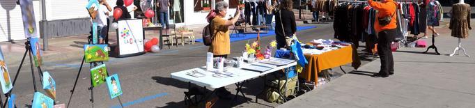 Lleida celebra el primer Parking Day en 14 zones de la ciutat