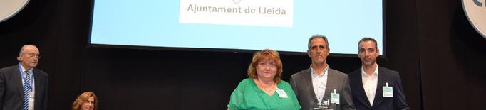 La Guàrdia Urbana de Lleida rep el premi Visión Zero en reconeixement a la tasca de seguretat viària