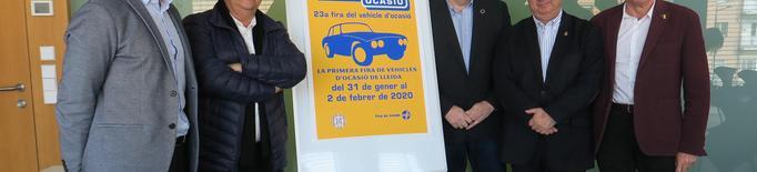 La 23a edició de Lleida Ocasió comptarà amb 30 expositors i 560 vehicles a la venda