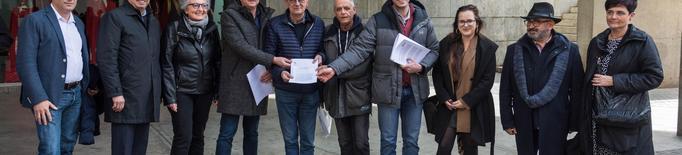 Front comú d'usuaris, institucions i sindicats per exigir millores de l'Avant a Lleida