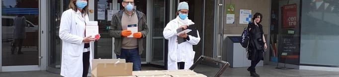La Paeria reparteix 1.600 exemplars de l'Escata de Drac als centres sanitaris i als voluntaris