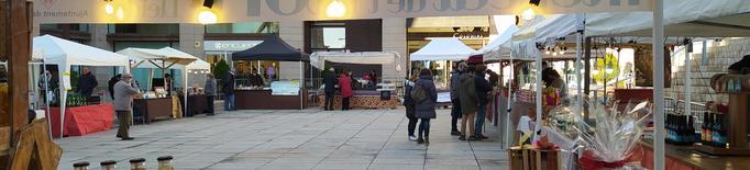El Mercat de l'Hort de Lleida celebra aquest cap de setmana una edició especial de Nadal