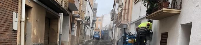 Corbins inicia les obres d'aglomerat als carrers del centre