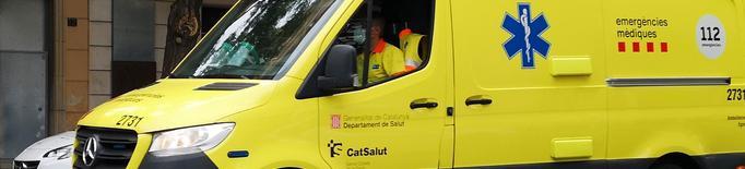 Mor el passatger d'una furgoneta a un polígon industrial de Lleida