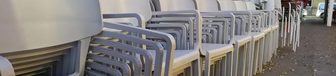 La Paeria facilitarà que bars i restaurants puguin ampliar o donar d'alta noves terrasses