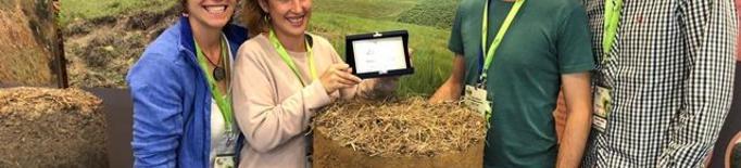 Un equip liderat per la UdL es proclama tercer millor del món en valoració de sòls