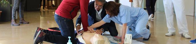 L'Arnau de Vilanova forma la ciutadania en tècniques de reanimació cardiopulmonar