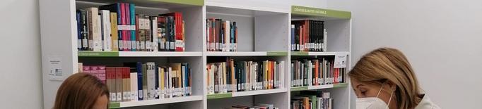 La Biblioteca Domingo Espax seguirà proporcionant les lectures obligatòries als alumnes