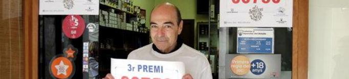 Un veí de Mollerussa compra les 36 sèries del tercer premi de la Rifa que han caigut al municipi
