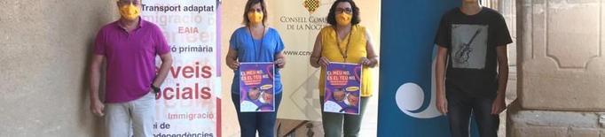 El Consell Comarcal de la Noguera posa en marxa la campanya de sensibilització i conscienciació contra les violències sexuals