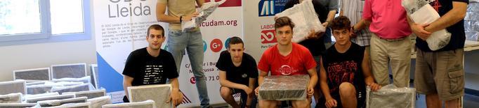 El Banc de Recursos de Lleida dona 10 ordinadors complets a l'ACUDAM